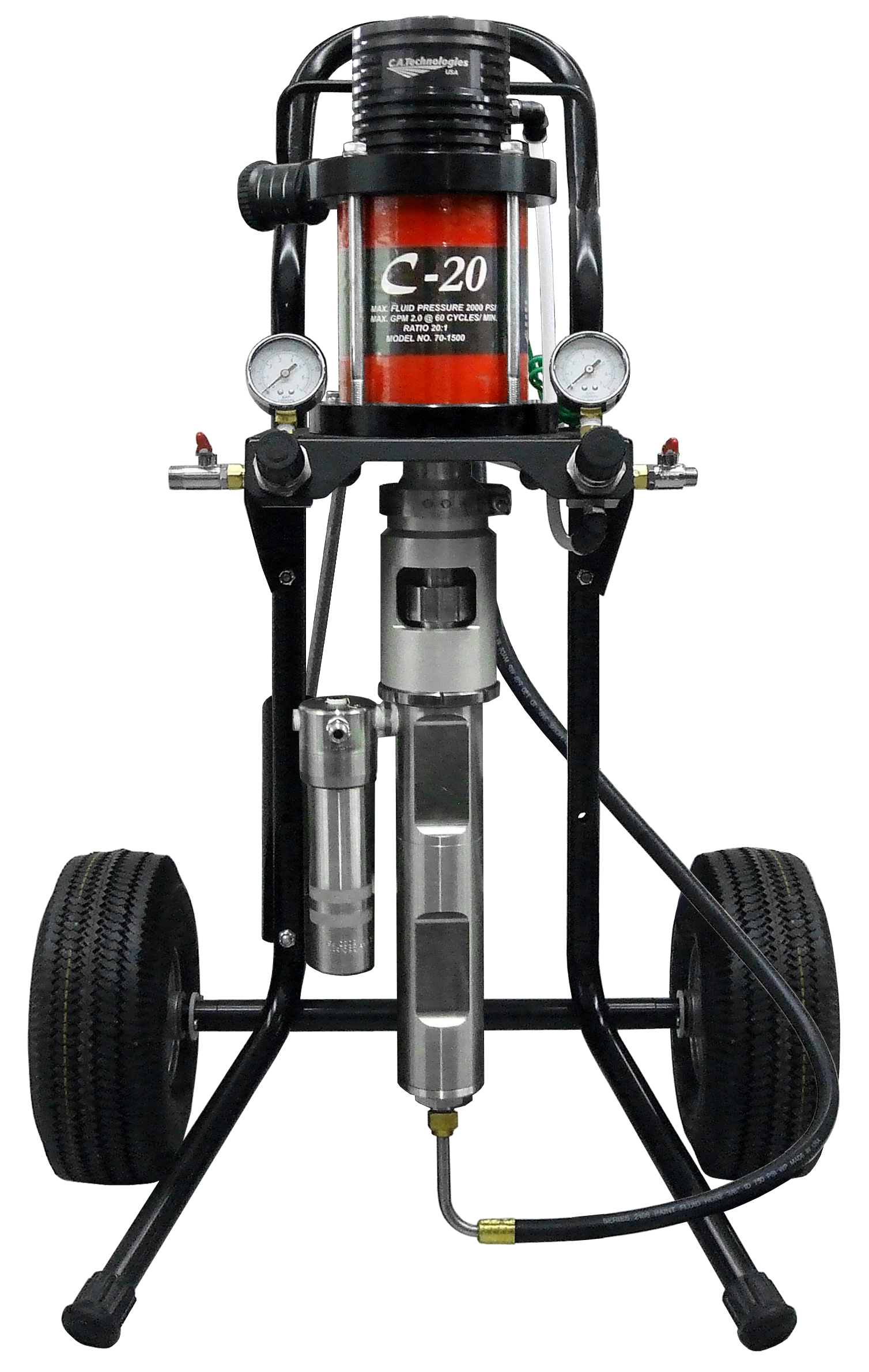 C A Technologies Air Assist Airless